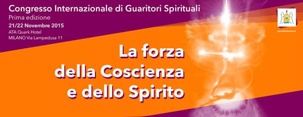Congresso Internazionale di Guaritori Spirituali. I Edizione