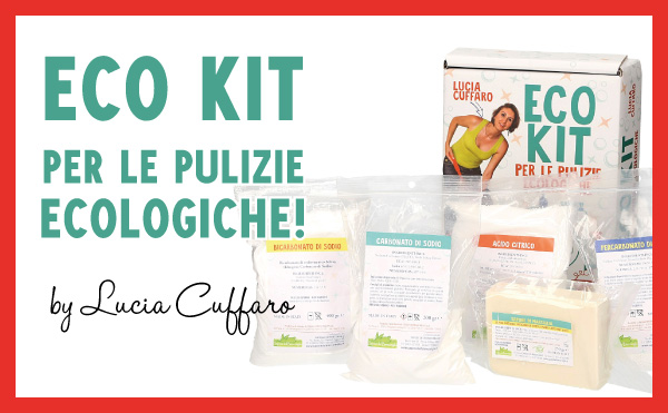 Un kit rivoluzionario di Lucia Cuffaro per autoprodurre i tuoi detersivi ecol...